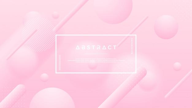 Abstrait vector rose doux.
