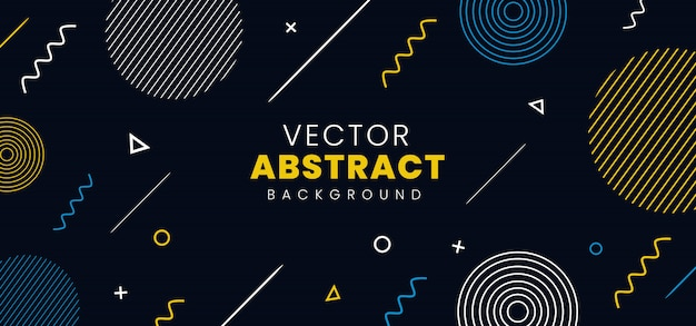 Abstrait vector