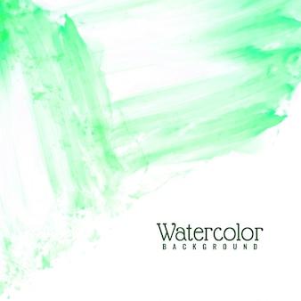 Abstrait vert aquarelle