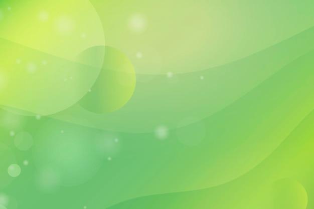 Abstrait vert et jaune