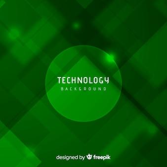 Abstrait vert avec un style moderne
