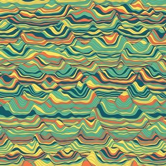 Abstrait vintage rayé
