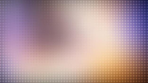 Abstrait violet abstrait avec des croix