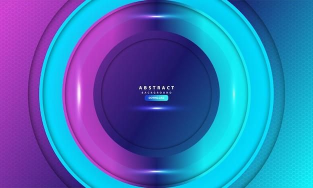 Abstrait violet clair hexagone