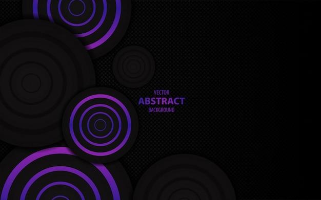 Abstrait violet foncé