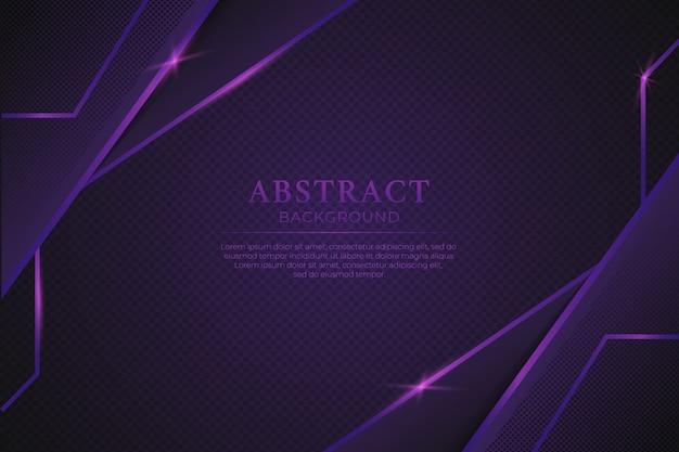Abstrait violet de luxe avec une ligne violette brillante