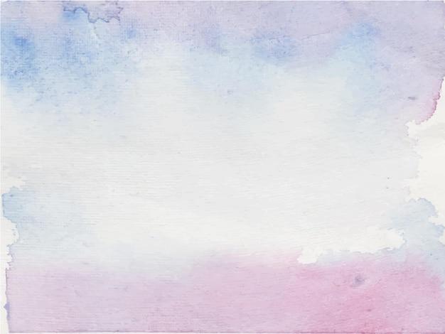 Abstrait violet peint à la main fond aquarelle. texture décorative. image dessinée à la main sur papier