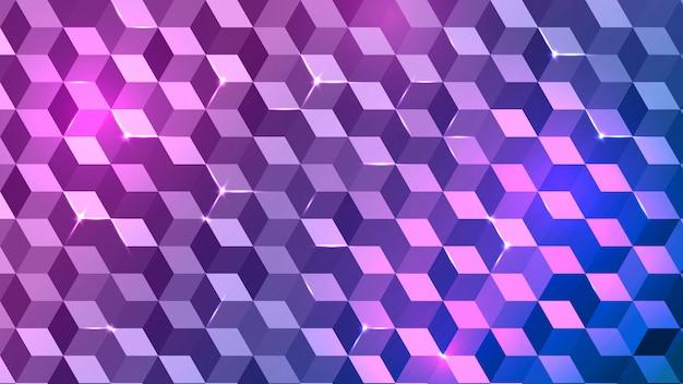 Abstrait violet