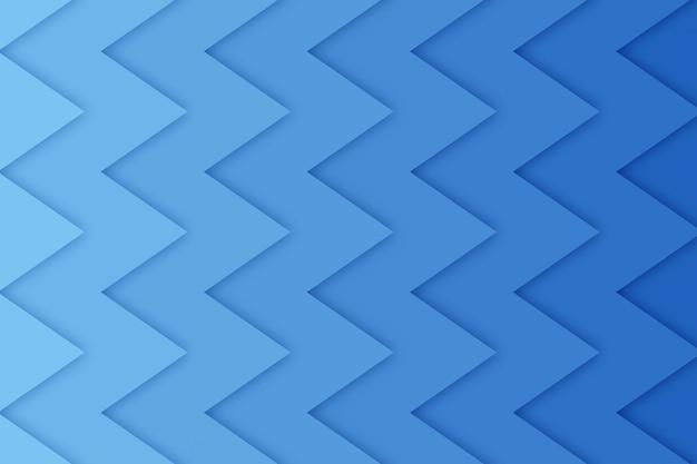 Abstrait en zig-zag avec des formes découpées en papier,