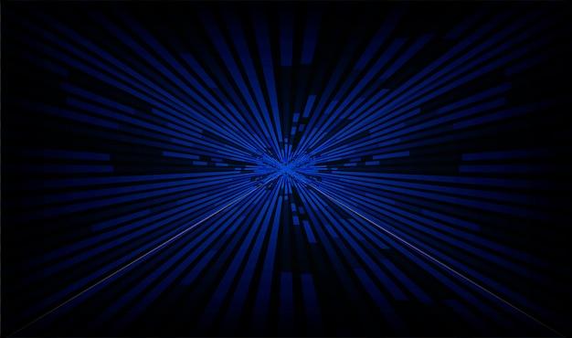 Abstrait zoom bleu clair