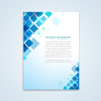 Abstraite conception de la brochure