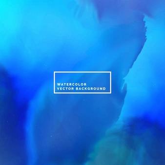 Abstraite encre bleue fond d'aquarelle