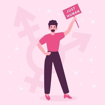 Acceptation de l'identité de genre