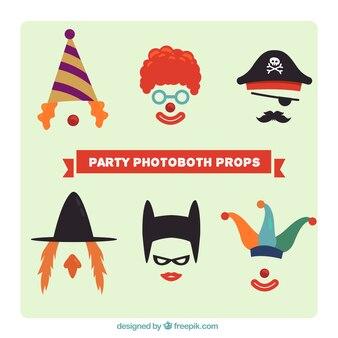 Accessoires de costumes pour photoboth