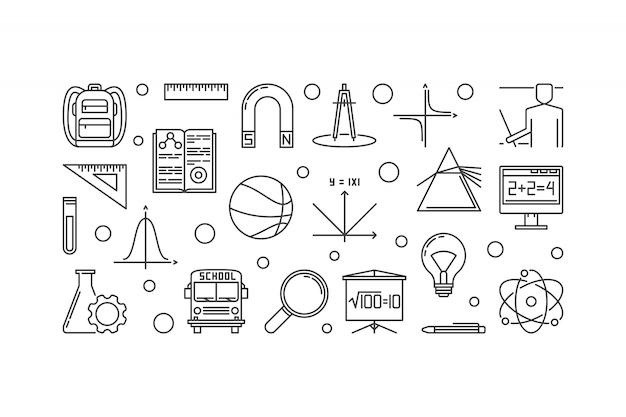 Accessoires d'école et d'éducation