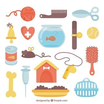 Accessoires plats pour animaux