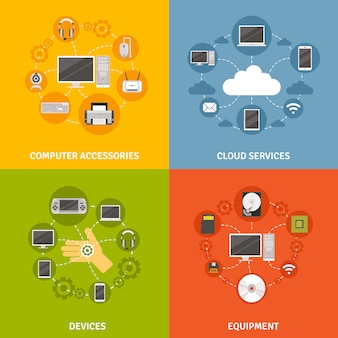 Accessoires pour ordinateurs