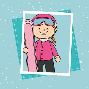 Accessoires de sport et vêtements d'hiver
