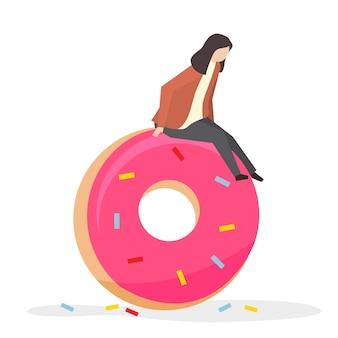 Accro aux bonbons et au sucre