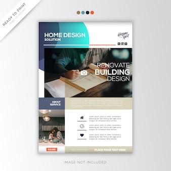 Accueil créatif, design créatif