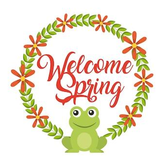 Accueillir le printemps