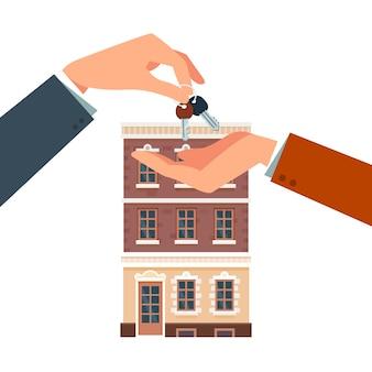 Achat ou location d'une nouvelle maison