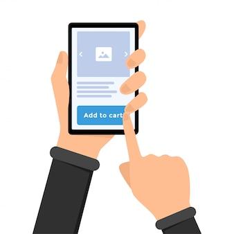 Achats mobiles, commerce électronique