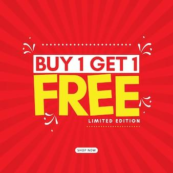 Acheter 1 obtenir 1 gratuit
