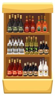 Achetez des boissons alcoolisées.