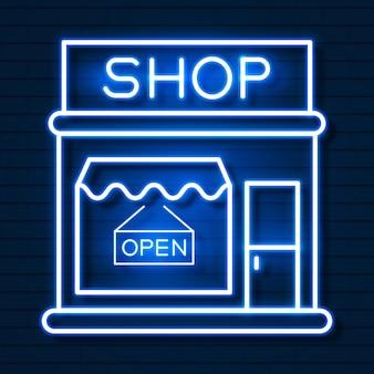 Achetez maintenant neon sign. prêt pour votre conception