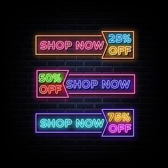 Achetez maintenant le symbole néon d'enseigne au néon