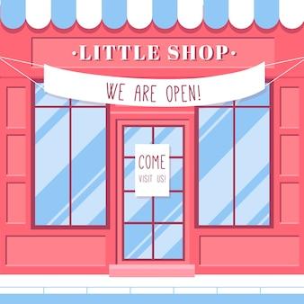 Achetez avec le signe que nous sommes ouverts
