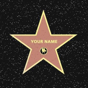 Acteur célèbre star star