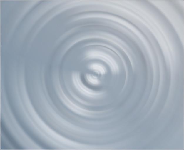 Action d'ondulation douce du centre de l'onde sonore sonore
