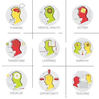 Activité cérébrale sur la santé mentale liée à l'autisme