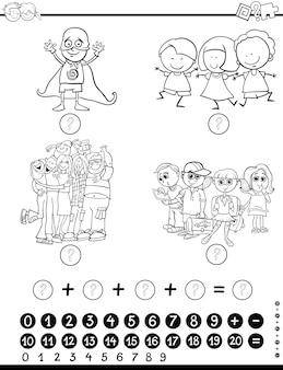Activité mathématique pour la coloration