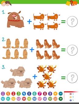 Activité maths addition