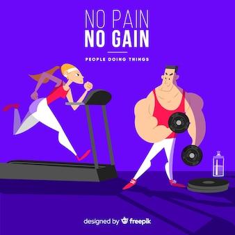 Activités de gym