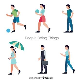Activités de personnes