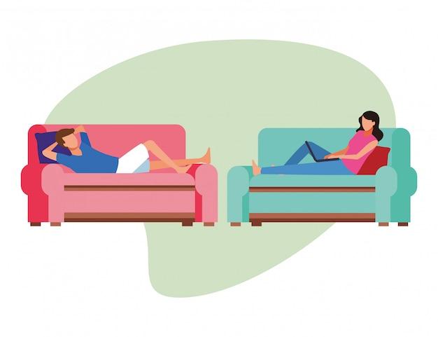 Activités et temps libre à la maison