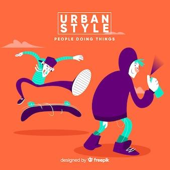 Activités urbaines