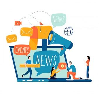 Actualités, abonnement et promotion par e-mail