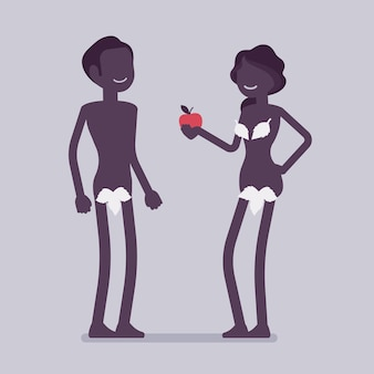Adam et eve, premier homme et femme de la bible