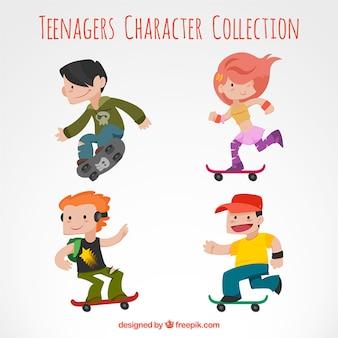 Adolescents caractère collection
