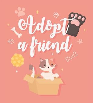 Adoptez un ami