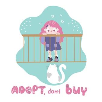 Adoption de chat