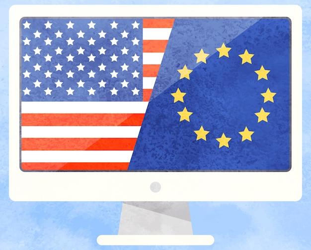 Affaires internationales, amérique et union européenne