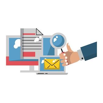 Affaires et travail de bureau