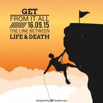 Affiche alpinisme