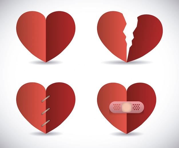 Affiche d'amour